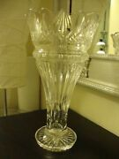 Waterford Princess Crystal Vase 13 Tall Weighs 5 Lb, 14 Oz