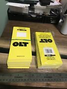 Vintage Lot Of Nos Ps Olt Pekin Il Duck Call Retail Packaging Box Topper Factory