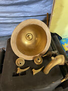 Vintage Sherle Wagner Bar Sink And Faucet