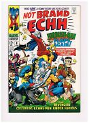 Not Brand Echh 8- Beatles Cameo, Last 12 Cent Issue Marvel 1968 Vf+