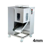 4mm Meat Slicer Meat Cutting Machine Double Layer Blade Floor Type Cutter