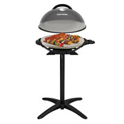 George Foreman Gfo3320gm I/o Electric Grill In Metal With Temperature Gauge