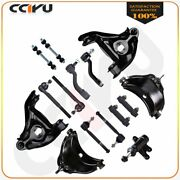 15 Front Control Arms Sway Bars Steering Part For Chevy Suburban C1500 1993-1999