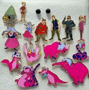 16 Fantasy Disney Pins. Characters From The Sword In The Stone. Disney Pin.