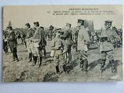 👍 1900s China Qing Officer In France Military Maneuver Postcard 中国陆军留学第一人唐宝潮