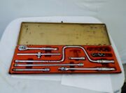 Vintage Snap-on Tools Kra 284 Dated 1969 Incomplete But W/ Most Of Tools Ratchet