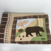 Woolrich Kids Big Bear Campground Full Quilted Comforter Quilt Only