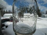 Trep Milk Bottle Ash Grove Farms Dairy Saratoga Springs Ny Saratoga Co Ayrshire