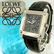 Loewe Ladies Wristwatch Rare 150th Anniversary Limited Edition Cleaned F/s Japan