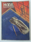 Motor Magazine November 1936 Annual Show Number - Automobile Ads Articles Etc.