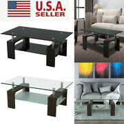 Rectangle Glass Coffee Table With Storage Lift Top Up Desk Living Room Furniture