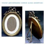 Stunning Antique Huge French Louis Xv Xvi Bronze Picture Frame 16 X 11