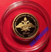 50 Roubles 2013 Russia General Staff Of The Armed Forces Gold Proof Rare