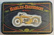 Harley-davidson Motorcycles Collectible Playing Cards 2 Decks In Tin 084026