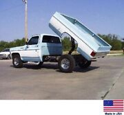 Pickup Bed Dump Kit 1987 And Older Chevy/gmc Pickups W/8 Ft Beds - Power Anduarr Power Anddarr