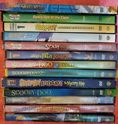 Lot Of 13 Scooby-doo Cartoon Dvds + Live Action Movie