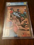Showcase And03996 3 Cgc 9.6 White Pages 1996 1st Birds Of Prey