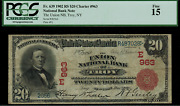 1902 20 National Troy New York - Red Seal - Fr.639 Charter 963 - Pcgs 15 Fine