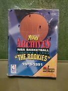 1992-1993 Topps Archives Basketball The Rookies 1981-1991 Box Factory...