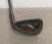 Ping I10 Right Handed Ex Demo 7 Iron Silver Dot Stiff Steel Oversized Grip