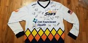 Team Autographed Signed Player Jersey Tacoma Stars White Lotto