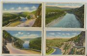 3 Linen And 1 1930and039s Sparrow Bush New York Postcards