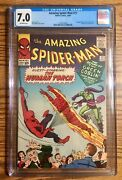 Amazing Spider-man 17 Cgc 7.0 Ow Pages Marvel Comics 2nd Green Goblin Free Ship