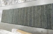 Charcoal 2and039-3 X 8and039 Pulled Threads Rug Reduced Price 1172616741 Nf212c-28