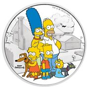 Tuvalu 2019 - The Family Simpsons - 2 Silver Coin 2 Oz