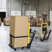 160kg Stair Climbing Climber Moving Dolly Hand Truck Warehouse Appliance Cart Us