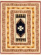 Hand-knotted Turkish Carpet 6and0399 X 8and0394 Antique Shiravan Wool Rug...discounted