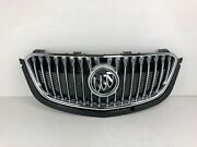 New Oem 16 17 18 Buick Envision Front Main Upper Grille W Emblem Part 23286075