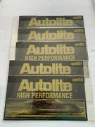 New Set Of 5 1968-1975 Unifill Autolite High Performance Battery Kit Decals