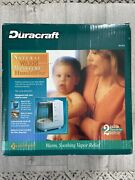 Duracraft Natural Warm Moisture Humidifier 2 Gallon Output/day Dh-910 New