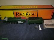 Mth 30-1125-1 Railking Southern Crescent 4-6-2 Pacific Steam Locomotive And Tender