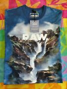 New Jaden Smith G-star Raw Forces Of Nature Collection Cypher Water Tshirt L