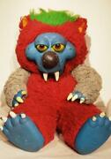 My Pet Monster 1989 Plushie Vintage F/s From Japan