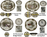 Johnson Brothers England Friendly Village Serving Platters And Bowls Your Pick