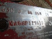 1964 Ford Galaxie Dataplate And Vehicle Identification Door Plate Rare P-code