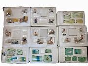 Lot Of 9 - Rudolph's Village Friends Accessory 9 Sets, By Hawthorne Village