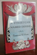 Tennessee Drama Williams / A Streetcar Named Desire Signed First Edition 1949