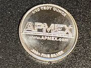 5 Pieces 1/10 Troy Ounce Silver Apmex Round .999 Fine