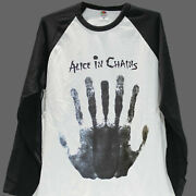 Alice In Chains Goth Rock Metal Baseball Long Sleeve Unisex T-shirt S-3xl