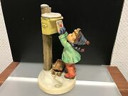 Hummel Figurine 340 Letter An ´s Baby Jesus 7 5/16in 1 Choice. Top Conditino