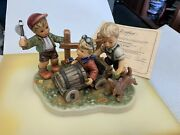 Hummel Figurine 2121 Soapbox 9 5/8in With Original Package And Certificate