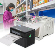 Shipping Label Barcode Printer High Speed Thermal Direct Printer Usb/tf Card