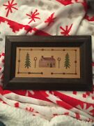 Original Stencil Painting By Gale Blair - The Stencilworks Framed Artwork Trees