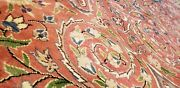 Rare 1930-1940s Antique Natural Dye Wool Pile Legendary Hereke Rug 6and0397andtimes10and0391