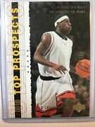 2003-04 Upper Deck Top Prospects Lebron James Gold Collection Rookie Rc /100🏀