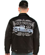 Authentic Lucky 13 The Dragger Lined Chino Jacket S-3xl New